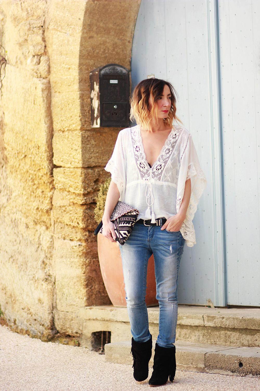 chaussure femme style populaire Un bouquet de dentelles - Blog mode Lily Chelmey