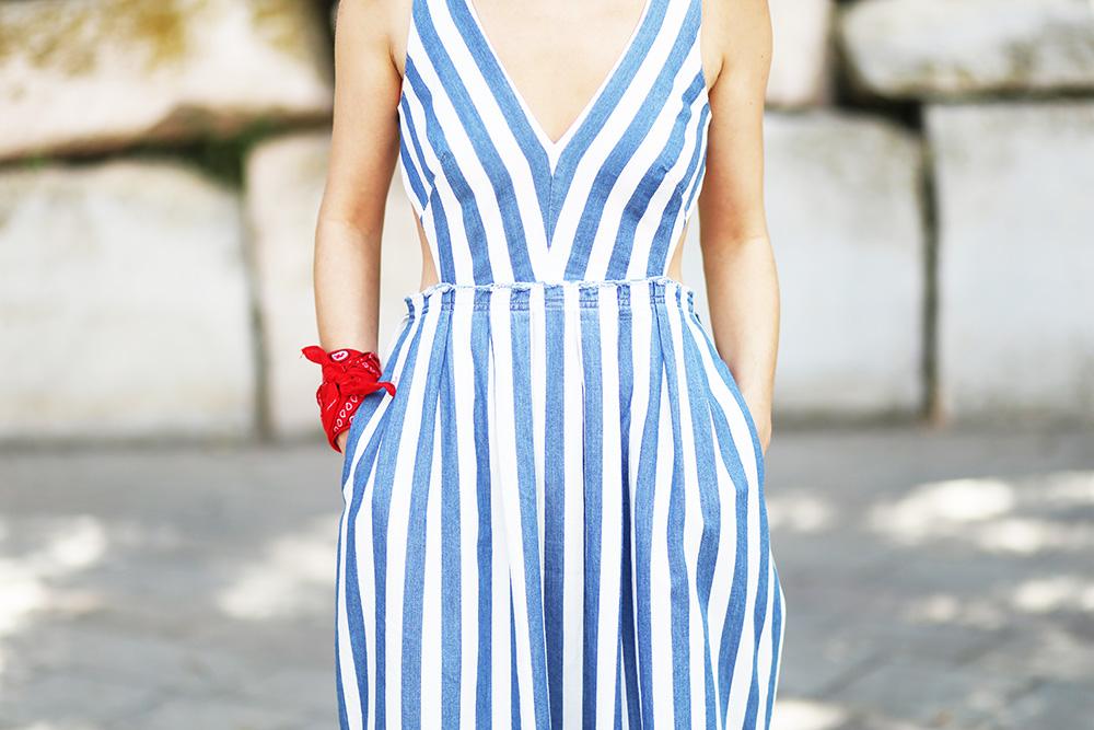 robe-rayée-zara