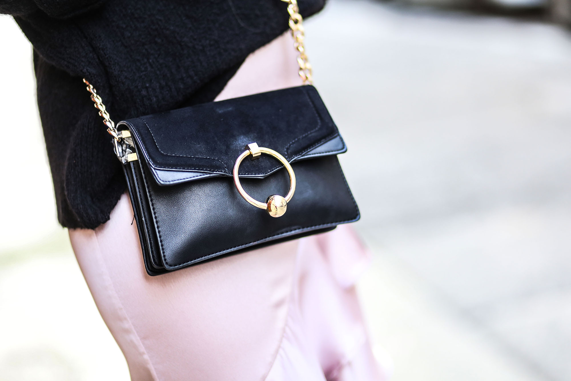 sac topshop noir