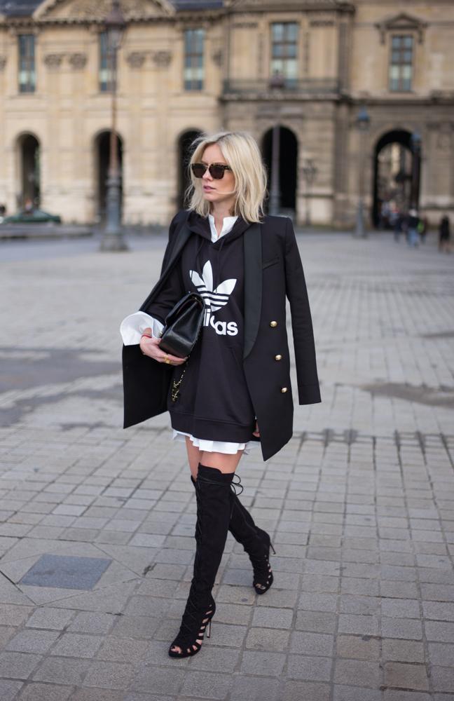 look Adidas femme