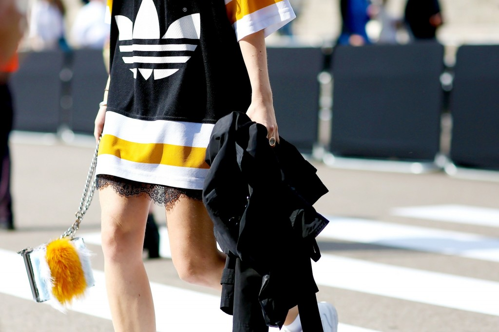 street style Adidas