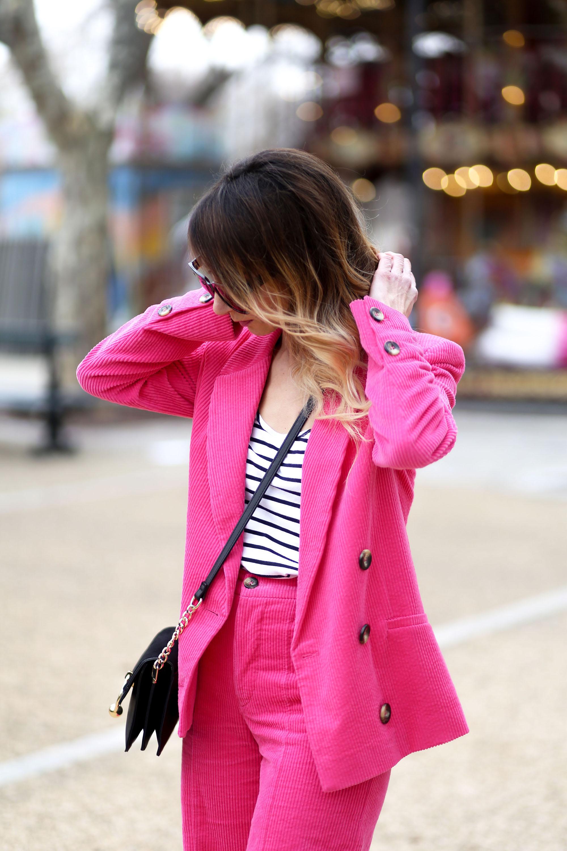 tendance veste velours