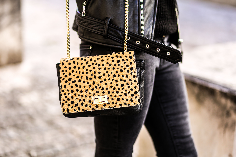 sac leopard pas cher