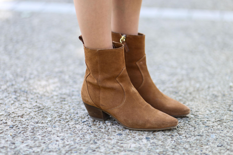 Boots camel Zara